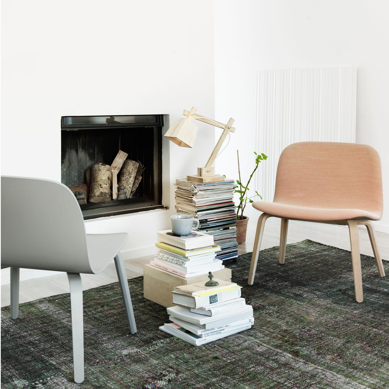Visu Lounge Chair With Wood Frame
