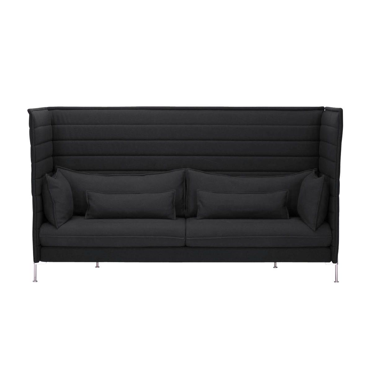 alcove highback 3 seater sofa vitra. Black Bedroom Furniture Sets. Home Design Ideas