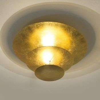 Catellani & Smith - Macchina Della Luce I LED Pendelleuchte - gold/Messing Stäbe/2600K-2800K/3150lm/CRI80/Scheiben Ø80cm/Ø50cm/Ø30cm/inkl. Dimmer