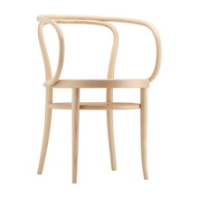 Thonet - 209 Pure Materials Armchair with Wickerwork