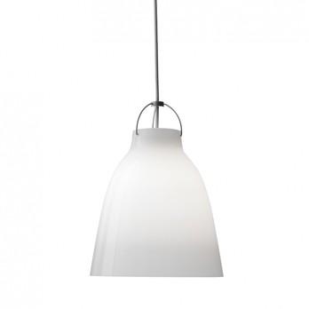 Lightyears - Caravaggio Opal Pendelleuchte - opal/Ø16.5cm