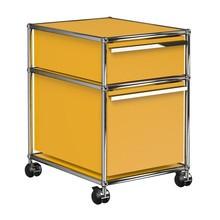 USM  Möbelbausysteme  - USM Rollcontainer mit 2 Schubladen
