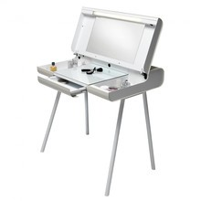 müller möbelfabrikation - Table de maquillage pliable ST08