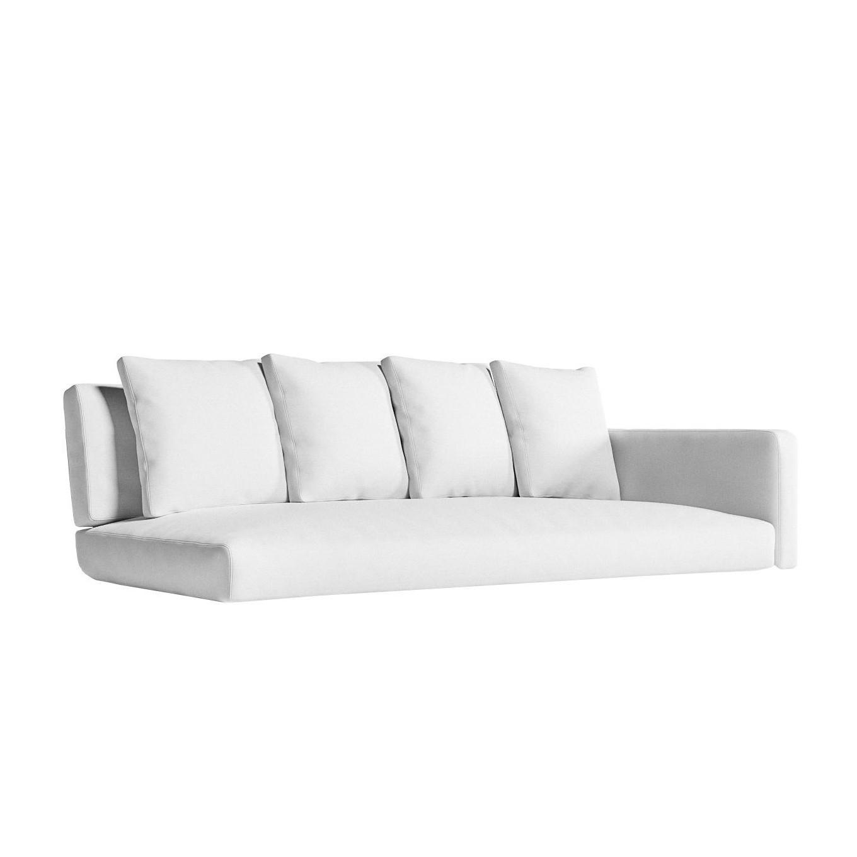 gandia blasco flat sitzauflage fur sofa modular 1 rechts ambientedirect