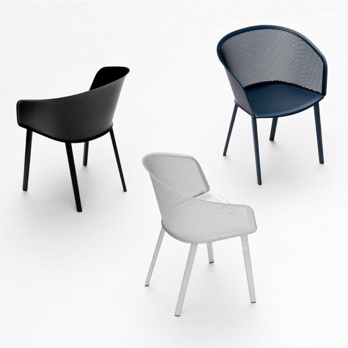Stampa solid silla con reposabrazos kettal - Sillas con reposabrazos ...