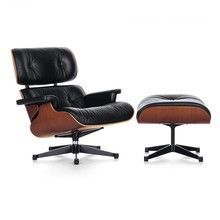 Vitra - Eames Lounge Chair Sessel XL & Ottoman