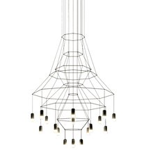 Vibia - Suspension LED Wireflow Chandelier 0315
