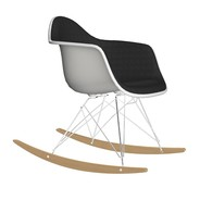 Vitra - Eames Plastic RAR Rocking Chair Upholstered