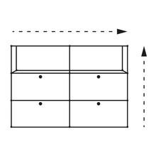 USM  Möbelbausysteme  - USM Individualkonfiguration