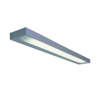 Serien - SML Wall T5 - aluminium/anodised/diffuser opaque/90 cm