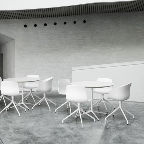 HAY - About a Chair 10 Drehstuhl mit Sternfuß weiß