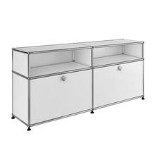 USM  Möbelbausysteme  - USM Sideboard mit 2 Klapptüren + 2 Fächer