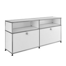 USM - USM Sideboard With 2 Falling Boards H 84cm