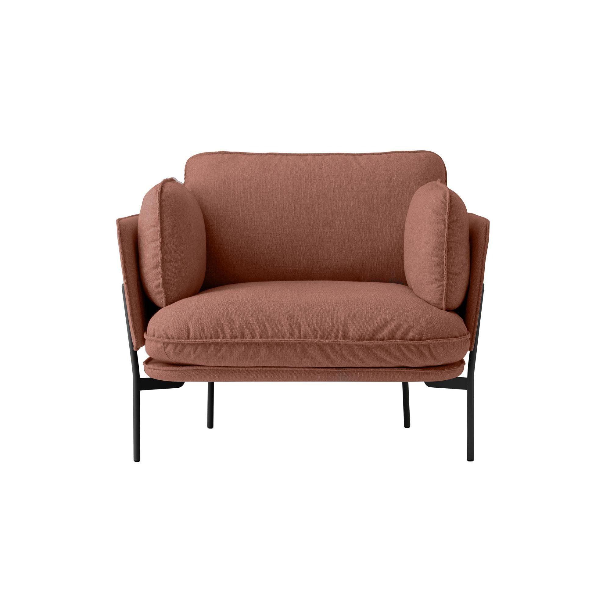 Lounge sessel braun stoff  &tradition Cloud LN1 Sessel | AmbienteDirect