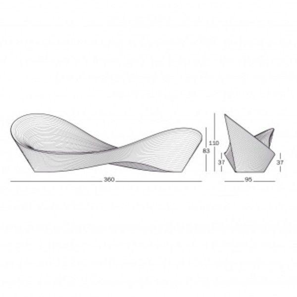 folly bench | magis | ambientedirect, Attraktive mobel