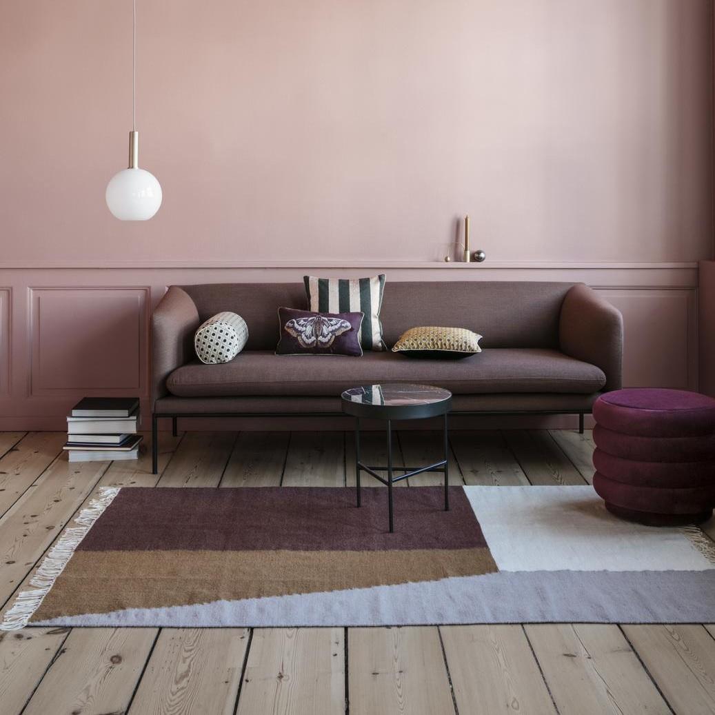 Ferm Living Marble Coffee Table Medium Ambientedirect