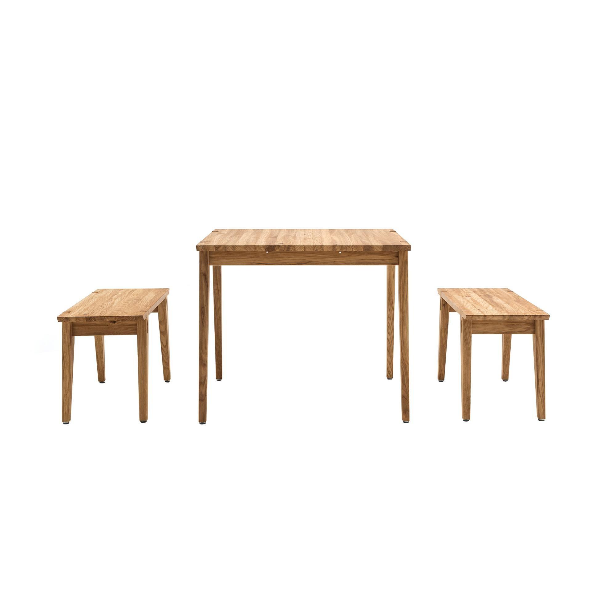freistil rolf benz freistil 156 esstisch mit 2 b nken. Black Bedroom Furniture Sets. Home Design Ideas