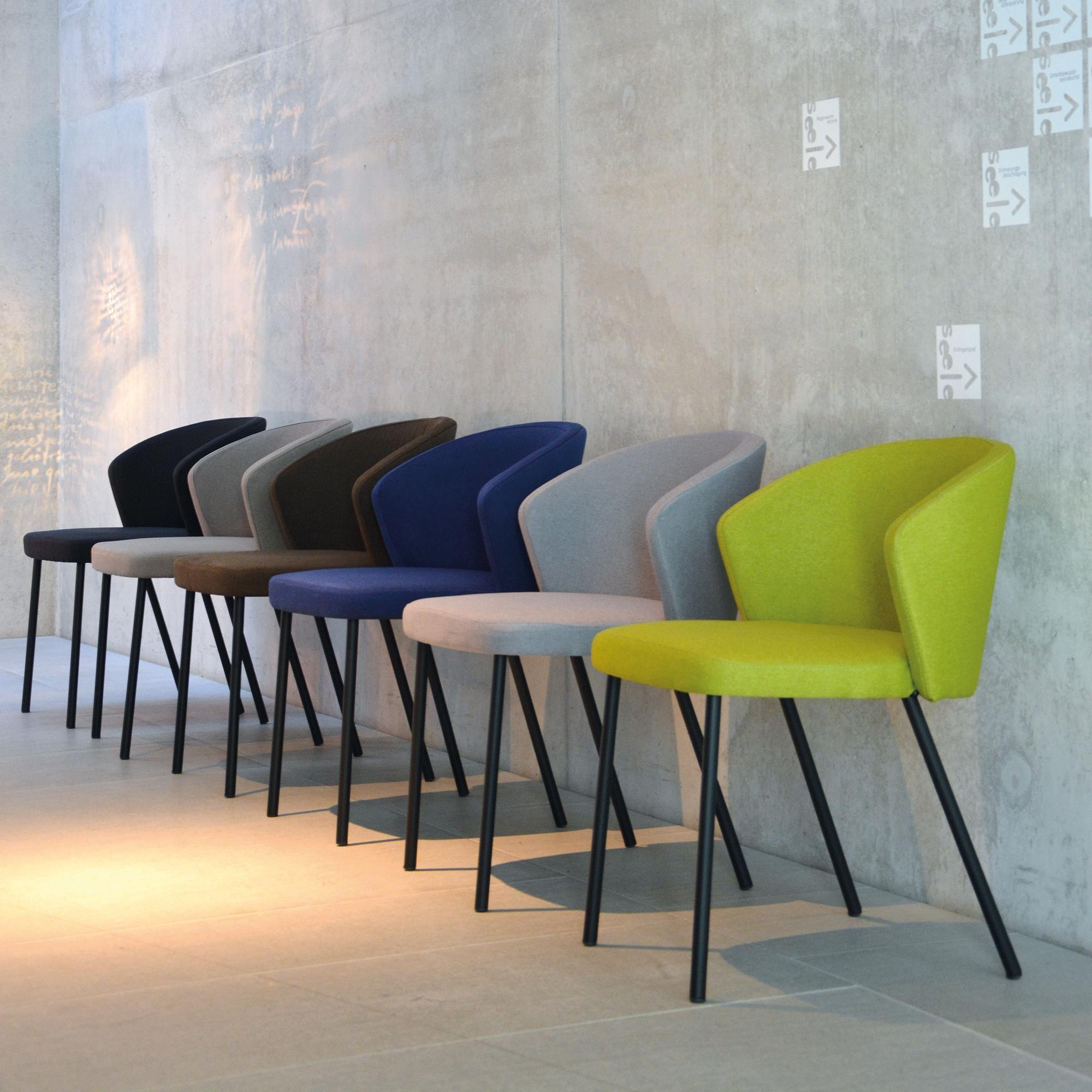 jan kurtz mila stuhl ambientedirect. Black Bedroom Furniture Sets. Home Design Ideas
