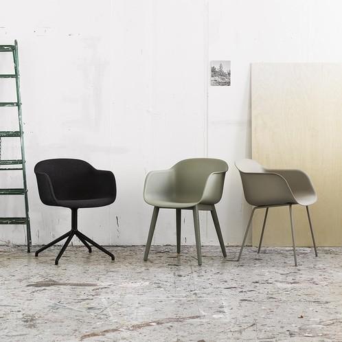 Muuto - Fiber Chair Drehstuhl