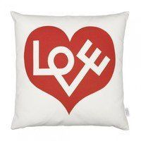 Vitra - Graphic Print Pillow Love Heart