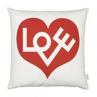Vitra - Graphic Print Pillow Love Heart Kissen
