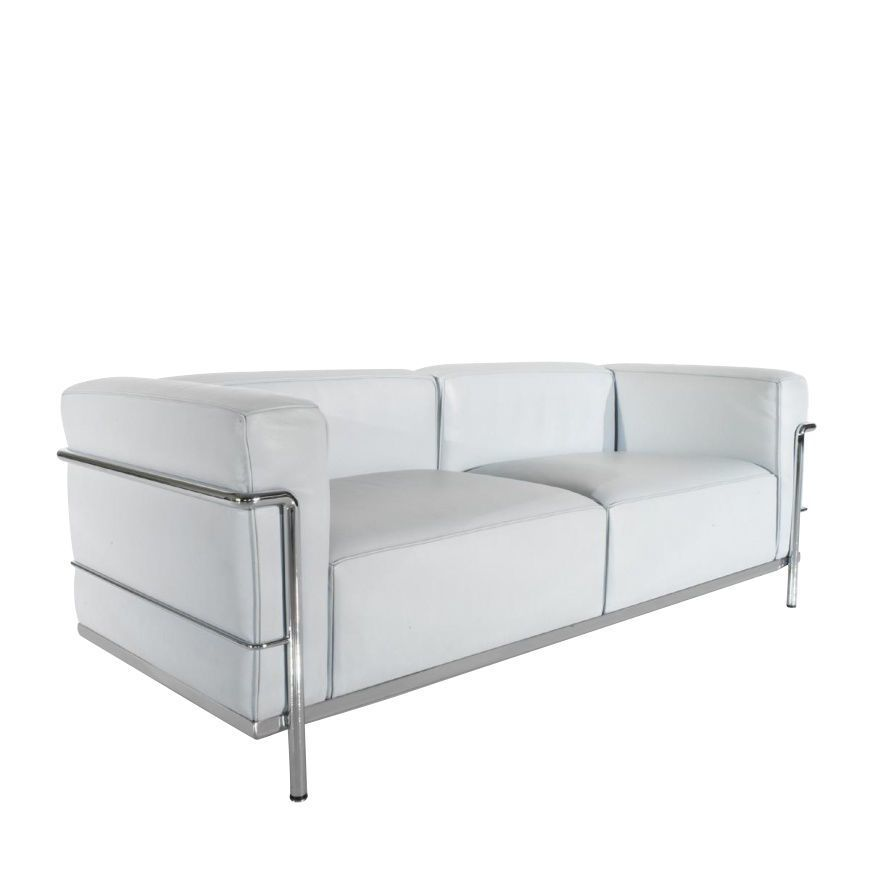 cassina le corbusier lc3 sofa cassina lcx 13x415frame chrome