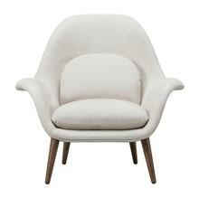 Fredericia - Swoon Sessel Füße Eiche geräuchert