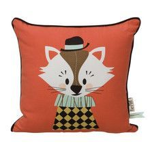 ferm LIVING - Aristo Katt Kids Cushion 30x30cm