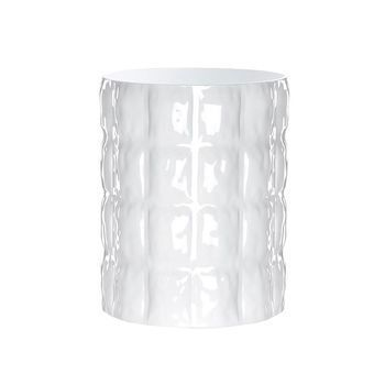 Kartell - Matelassé Vase - weiß/durchgefärbt