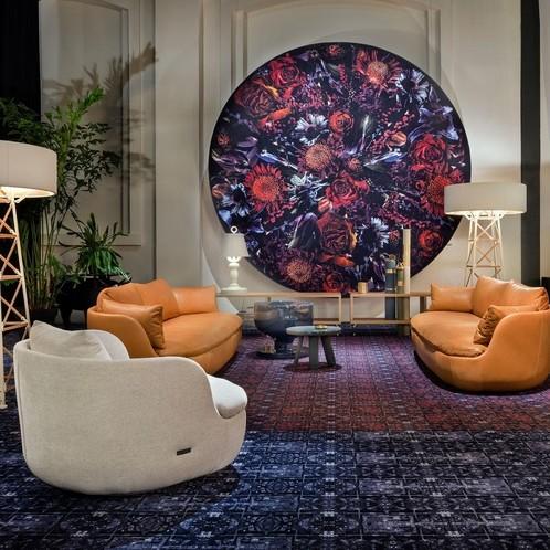 Moooi Carpets - Fool's Paradise Teppich rund