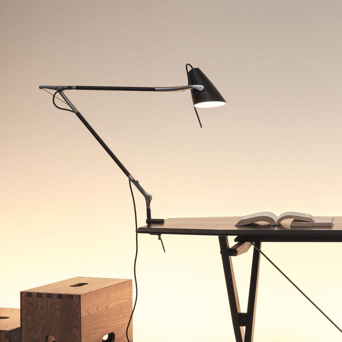 Leo lampe de bureau sur pied nemo - Lampe de bureau sur pied ...