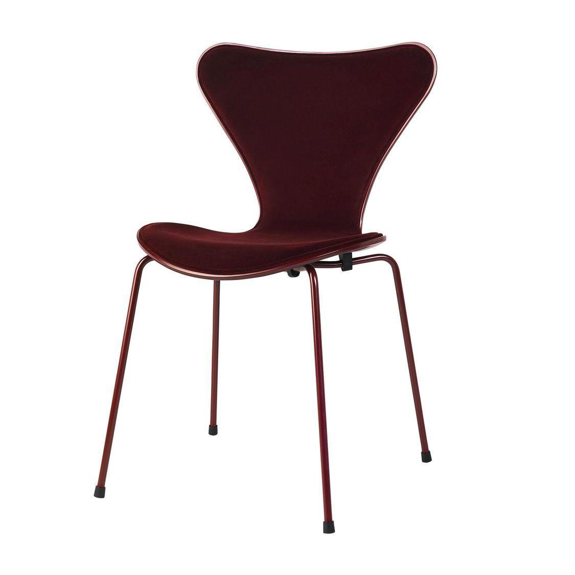 Limited Edition Series 7 Chair Velvet Fritz Hansen