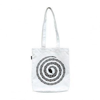 Vitra - Graphic Bag Snake Tasche - schwarz/weiß/BxH 37x40cm