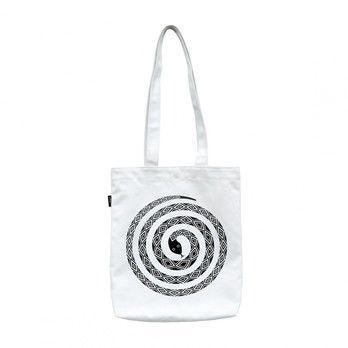 - Graphic Bag Snake Tasche - schwarz/weiß/BxH 37x40cm