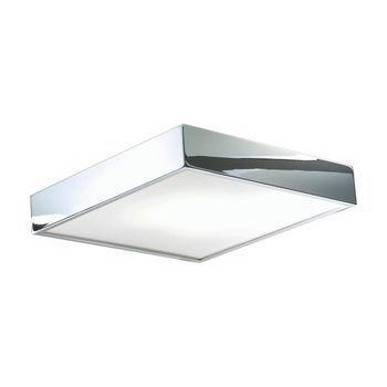 - Cut 30 LED Wand-/Deckenleuchte - chrom/poliert/30x30cm/3000K/1080lm
