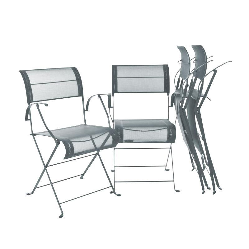 Dune folding chair garden set fermob - Chaise dune fermob ...