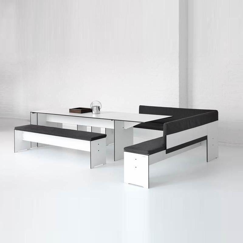 Riva banco esquinero conmoto for Banco esquinero con mesa