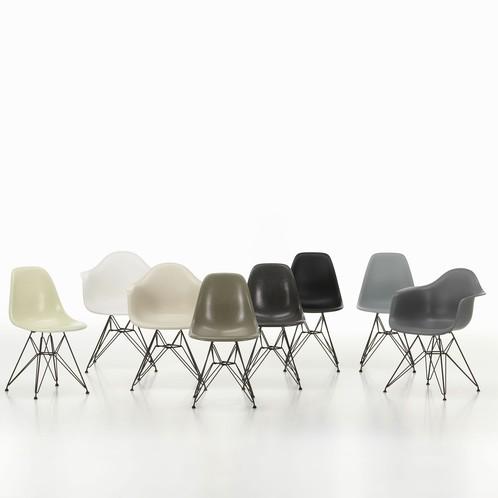 Vitra Eames Fiberglass Side Chair Dsr, Eames Side Chair Fiberglass