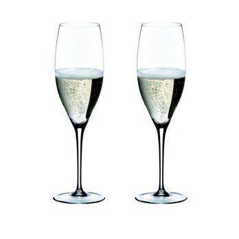 Riedel - Sommeliers Champagnerglas 2er Set - transparent/H 24,5cm, 330ccm