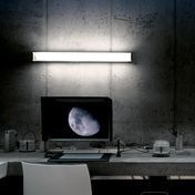 Oluce - Universal 108 Wandleuchte - schwarz