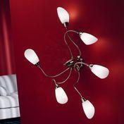deMajo - Poli Pò P6/A6 Lamp - white/glass/body chrome