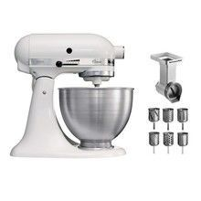 KitchenAid - Classic 5K45SS Food Processor Set