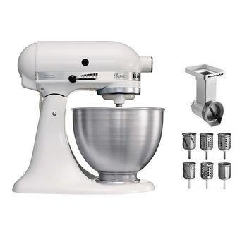 Kitchenaid classic 5k45ss stand mixer set kitchenaid for Kitchenaid 6 set