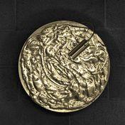 Catellani & Smith - Stchu-Moon 07 - Deckenleuchte / Wandleuchte - gold/Aluminium/Rückseite schwarz