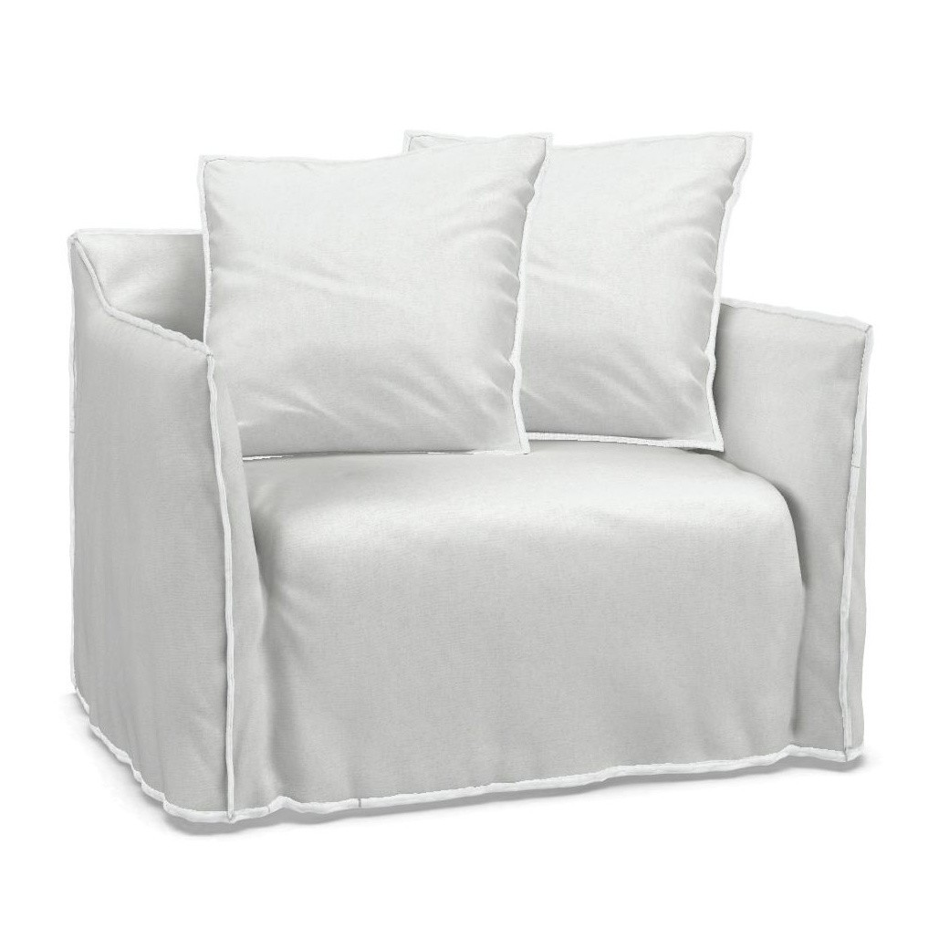 Loungesessel weiss outdoor  Gervasoni Ghost 09 Loungesessel | AmbienteDirect
