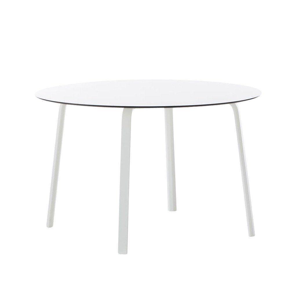Gartentisch rund weiß  Gandia Blasco Stack Gartentisch rund | AmbienteDirect