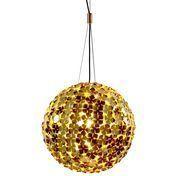 Terzani - Ortenzia Globe Suspension Lamp Ø70 - gold/metal