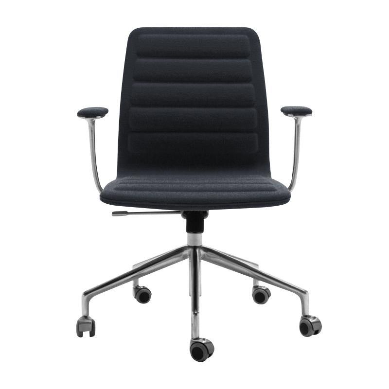 Cappellini   Lotus Low Office Chair With Wheels ...