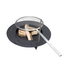 Radius - Fireplate Fireplace