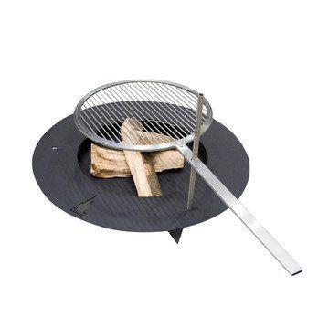 Radius - Fireplate Feuerstelle